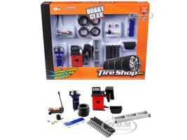 Repair Tire Shop Accessories Tool Set 1/24 Scale Models Phoenix Toys 18422