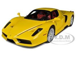 Ferrari F60 Enzo Yellow 1/12 Diecast Model Car Kyosho 08606