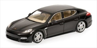 2011 Porsche Panamera Turbo Black Limited Edition 1 of 1008 Produced Worldwide 1/43 Diecast Model Car Minichamps 400068271