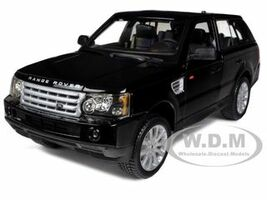 Range Rover Sport Black 1/18 Diecast Car Model Bburago 12069