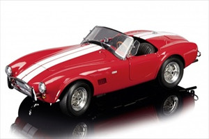 Shelby Cobra AC289 Red Limited Edition 1 of 500 Produced Worldwide 1/12 Diecast Model Car Schuco 450672500