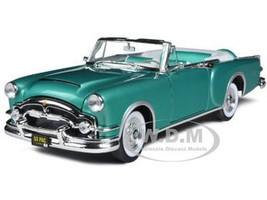 1953 Packard Caribbean Green 1/18 Diecast Car Model Road Signature 92798