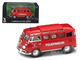 1962 Volkswagen Microbus Police Fire Department 1/43 Diecast Car Model Road Signature 43211