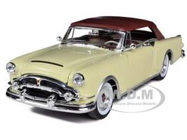 1953 Packard Caribbean Soft Top Cream 1/24 Diecast Car Model Welly 24016