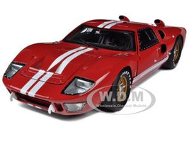1966 Ford GT40 GT 40 Mark II Red 1/18 Diecast Model Car Shelby Collectibles 400