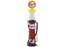 Gasoline Vintage Gas Pump Cylinder 1/18 Diecast Replica Road Signature 98622