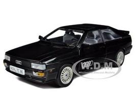 1981 Audi Quattro Coupe Black 1/18 Diecast Car Model Sunstar 4151