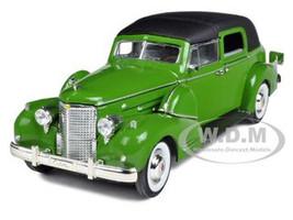 1938 Cadillac Series 90 V16 Fleetwood Green 1/32 Diecast Model Car Signature Models 32340