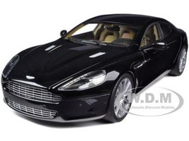 Aston Martin Rapide Black 1/18 Diecast Model Car Autoart 70216
