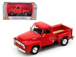 1953 Ford F-100 Pickup Red 1/43 Diecast Car Model Road Signature 94204