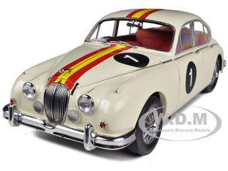 1962 Jaguar Mark II 3.8 #1 Bob Jane Australian Touring Car Limited to 2000pc 1/18 Diecast Model Car Model Icons MI32106