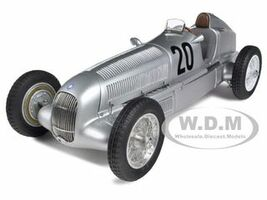 Mercedes W25 #20 1934 Eifelrennen #20 M.V.Brauchitsch Limited to 2000pc 1/18 Diecast Model Car CMC 103