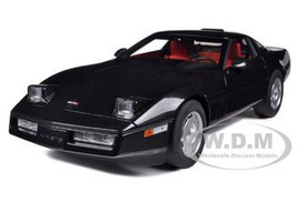 1986 Chevrolet Corvette Black 1/18 Diecast Car Model Autoart 71242