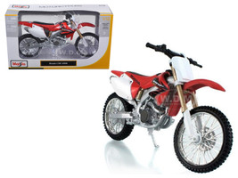 Honda CRF 450R White/Red Motorcycle 1/12 Diecast Model Maisto 31104
