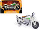 1930 Indian Chief White Bike 1/12 Diecast Motorcycle Model New Ray 42163