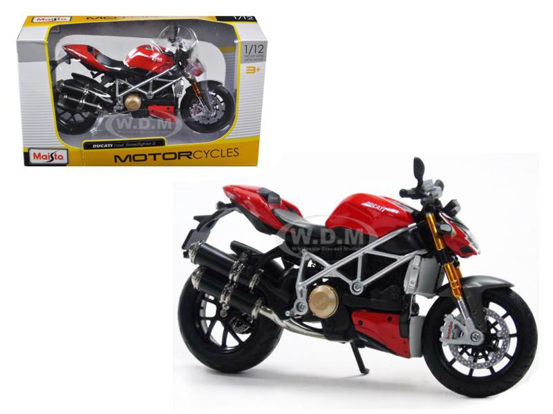 Ducati Mod Streetfighter S Motorcycle 1/12 Maisto 31197