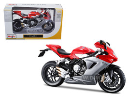 2012 MV Agusta F3 Red Bike Motorcycle 1/12 Diecast Model Maisto 11093