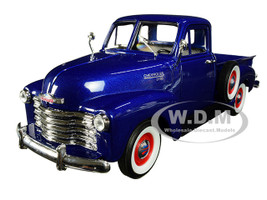 1953 Chevrolet 3100 Pickup Truck Blue 1/24 1/27 Diecast Model Car Welly 22087