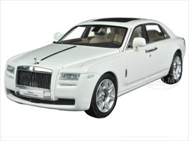 Rolls Royce Ghost English White with Extended Wheel Base 1/43 by Kyosho