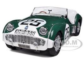 Triumph TR3A #25 Le Mans 1959 1/18 Diecast Car Model Kyosho 08033