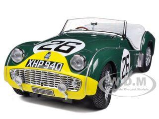 Triumph TR3A #26 Le Mans 1959 1/18 Diecast Car Model Kyosho 08033