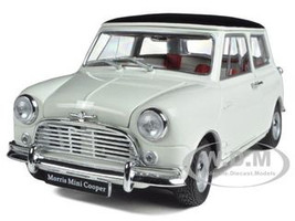 Morris Mini Cooper S MK-1 1275S White 1/18 Diecast Car Model Kyosho 08108
