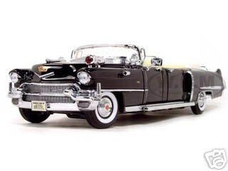 1956 Cadillac Series 62 Parade Limousine Black 1/24 Diecast Model Car Road Signature 24038
