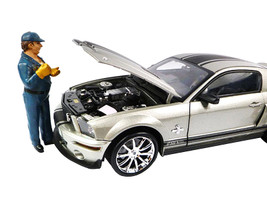 Tow Truck Driver/Operator Bill Figure For 1:18 Scale Diecast Car Models American Diorama 23794