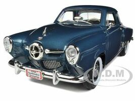 1950 Studebaker Champion Blue 1/18 Diecast Car Model Road Signature 92478