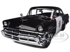 1956 Mercury Montclair Police Car 1/18 Diecast Car Model Sunstar 5146