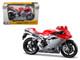 2012 MV Agusta F4 Red/Silver Bike 1/12 Motorcycle Model Maisto 11094