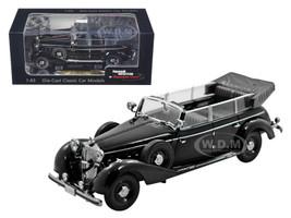 1938 Mercedes 770K Parade Car Black 1/43 Diecast Car Model Signature Models 43700