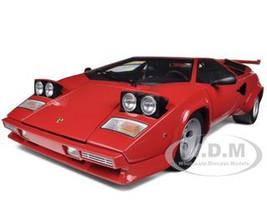 Lamborghini Countach LP5000S Red 1/12 Diecast Car Model Kyosho 08612