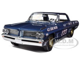 1962 Don Gay's Pontiac Catalina 421SC 1/18 Diecast Car Model Autoworld AW201