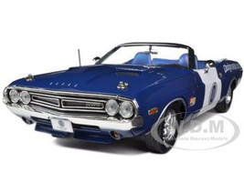 1971 Dodge Challenger Convertible Ontario Speedway Pace Car Limited to 1500pc 1/18 Diecast Model Car Greenlight GL12871