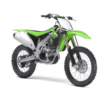 2012 Kawasaki KX450F Bike Motorcycle 1/6 Model New Ray 49403