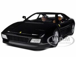 Ferrari 348 TB Black 1/18 Diecast Car Model Hotwheels X5530