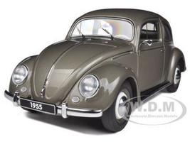 1955 Volkswagen Beetle Kafer Limousine Polaris Silver 1/18 Diecast Car Model Autoart 79777