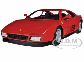 Ferrari 348 TB Red 1/18 Diecast Car Model Hotwheels X5532
