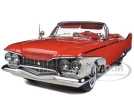 1960 Plymouth Fury Open Convertible Valiant Red 1/18 Diecast Car Model Sunstar 5402