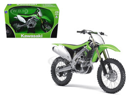 2012 Kawasaki KX 450F Dirt Bike Motorcycle 1/12 Model New Ray 57483