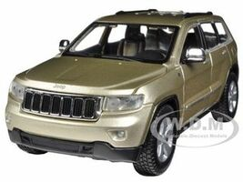 2011 Jeep Grand Cherokee Gold 1/24 Diecast Car Model Maisto 31205