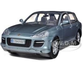 Porsche Cayenne Turbo Grey 1/24 Diecast Car Model Motormax 73345
