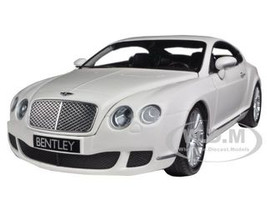 2008 Bentley Continental GT White 1:18 Diecast Car Model Minichamps 100139621