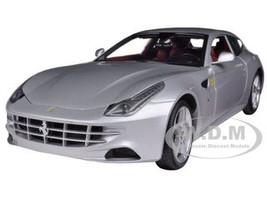 Ferrari FF Silver 1/18 Diecast Car Model Hotwheels X5525
