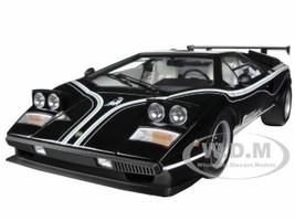 Lamborghini Countach LP500R Black 1/12 Diecast Car Model Kyosho 08616