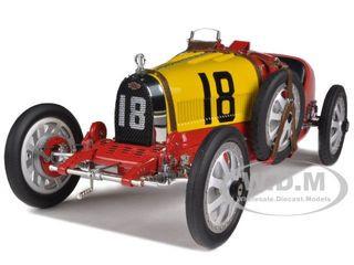 Bugatti T 35 TYPE 35 Grand Prix National Color Project Spain 1/18Diecast Model Car CMC 100 B016