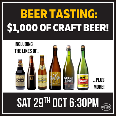 Beer Cartel Sydney Craft Beer Week Event