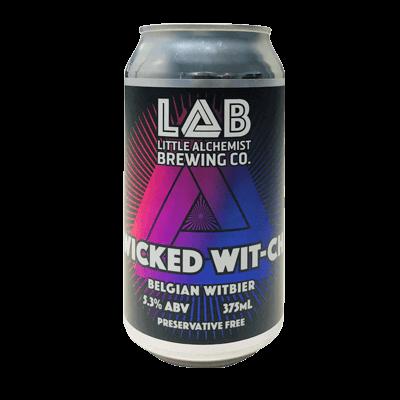 Little Alchemist Brewing Co Wicked Wit-ch Belgian Witbier