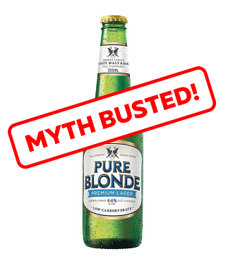 Low Carb Beer Myth Busted